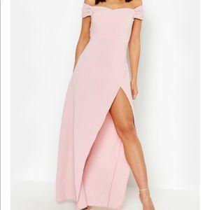 NWOT Boohoo Maxi Dress